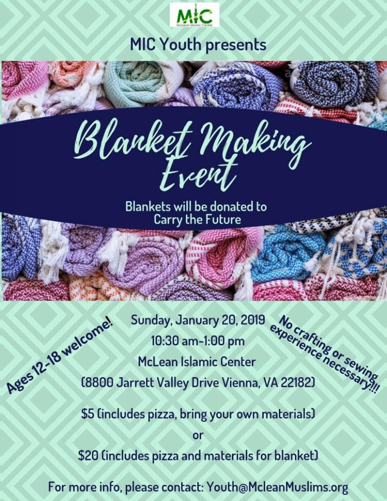 Blanket Making Event